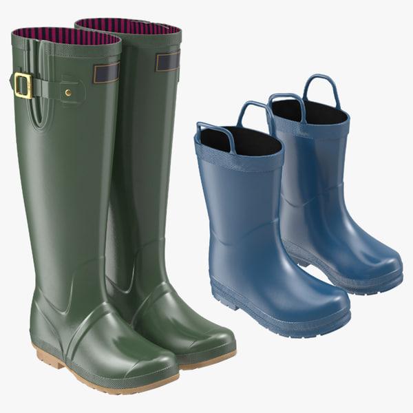 adult kids rain boots max