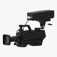 TV Studio Camera Generic 3