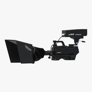 3d tv studio camera hitachi model