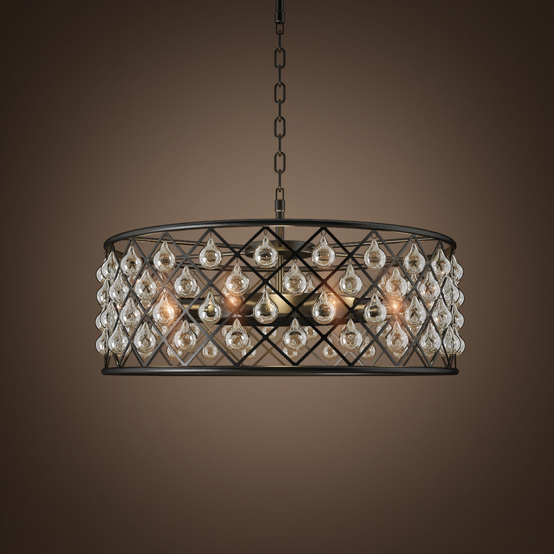 chandelier spencer 3d model
