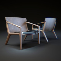 linna-armchair 3d model
