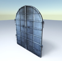 old basement door 3d 3ds