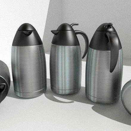 3d coffee pot model