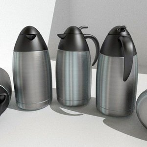 3d coffee pot model