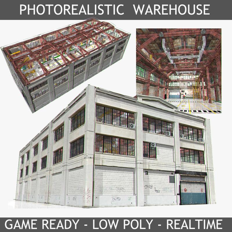 3ds warehouse interior