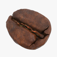 3d max coffee bean