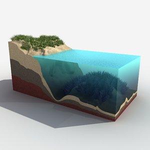 ocean 2 3d model