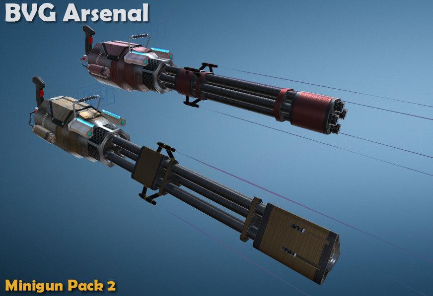 miniguns package weapons ma