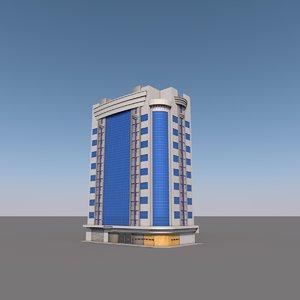 building modern glass fbx free