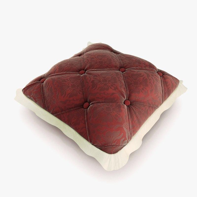3d max pillow