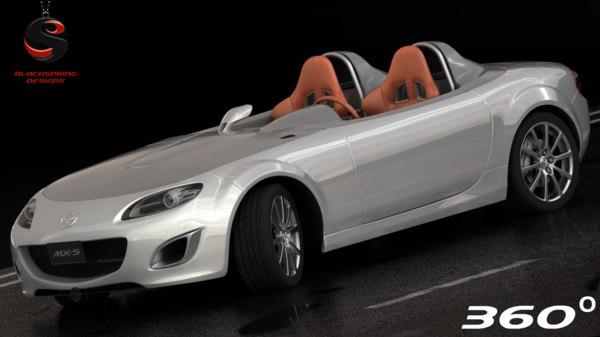 mazda mx-5 superlight 2010 3d model