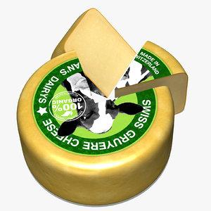 3d block swiss cheese model