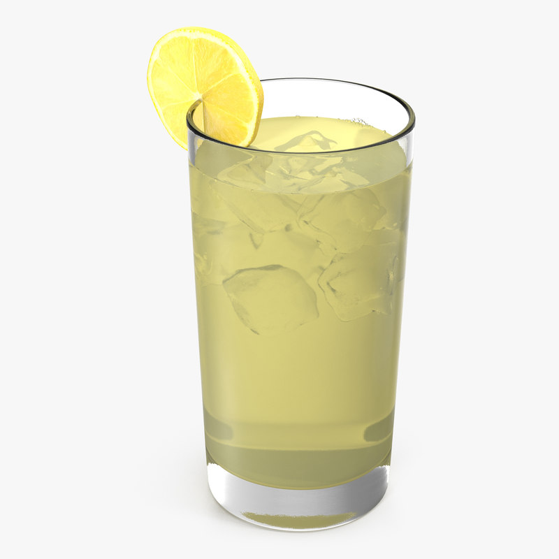 glass lemonade modeled max