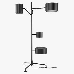 floor lamp statistocrat 3d model