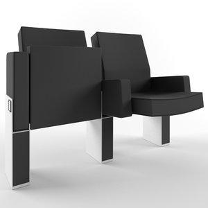 3d chair flex 6035 figueras model