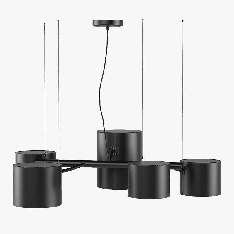 lamp statistocrat suspended 3d max
