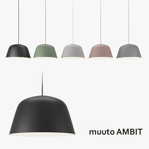 muuto ambit lamp 3ds