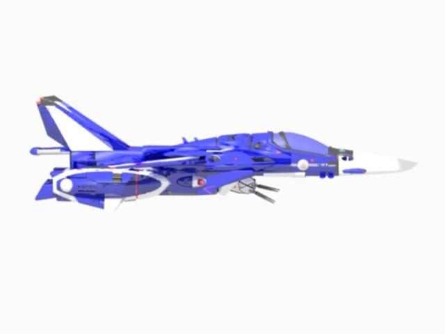 3d vf macross 132-a model
