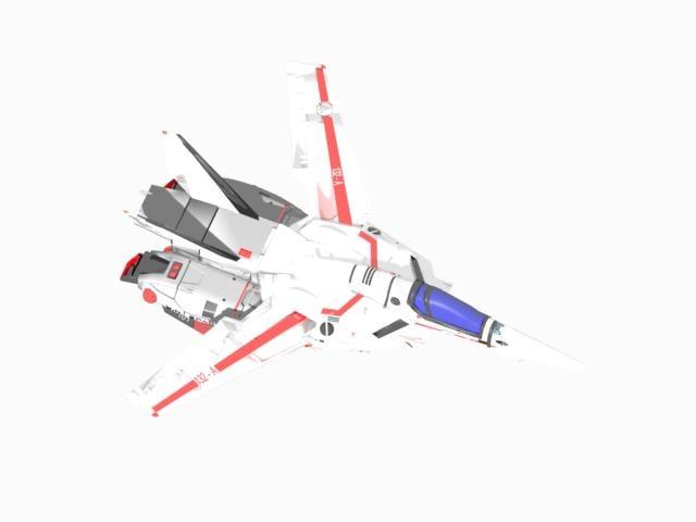 3d model vf macross