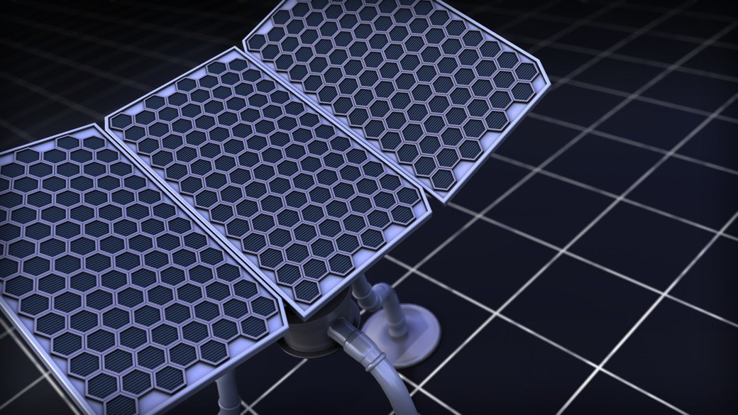 3d ma solar board