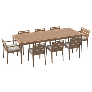 ciel rectangular dining table 3d model