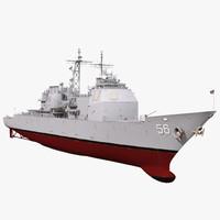 USS San Jacinto CG-56 3D Model