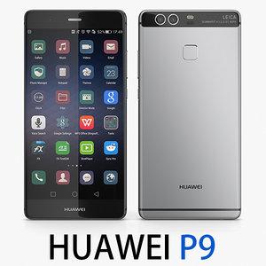 3d huawei p9