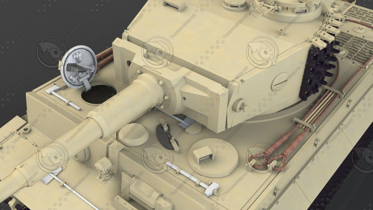 panzerkampfwagen vi tiger ausf 3d 3ds