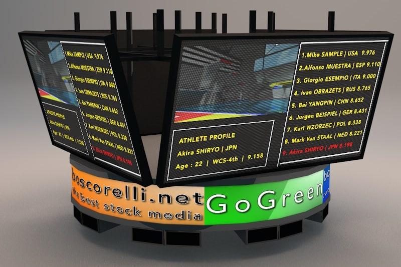 3d bigscreen jumbotron screen