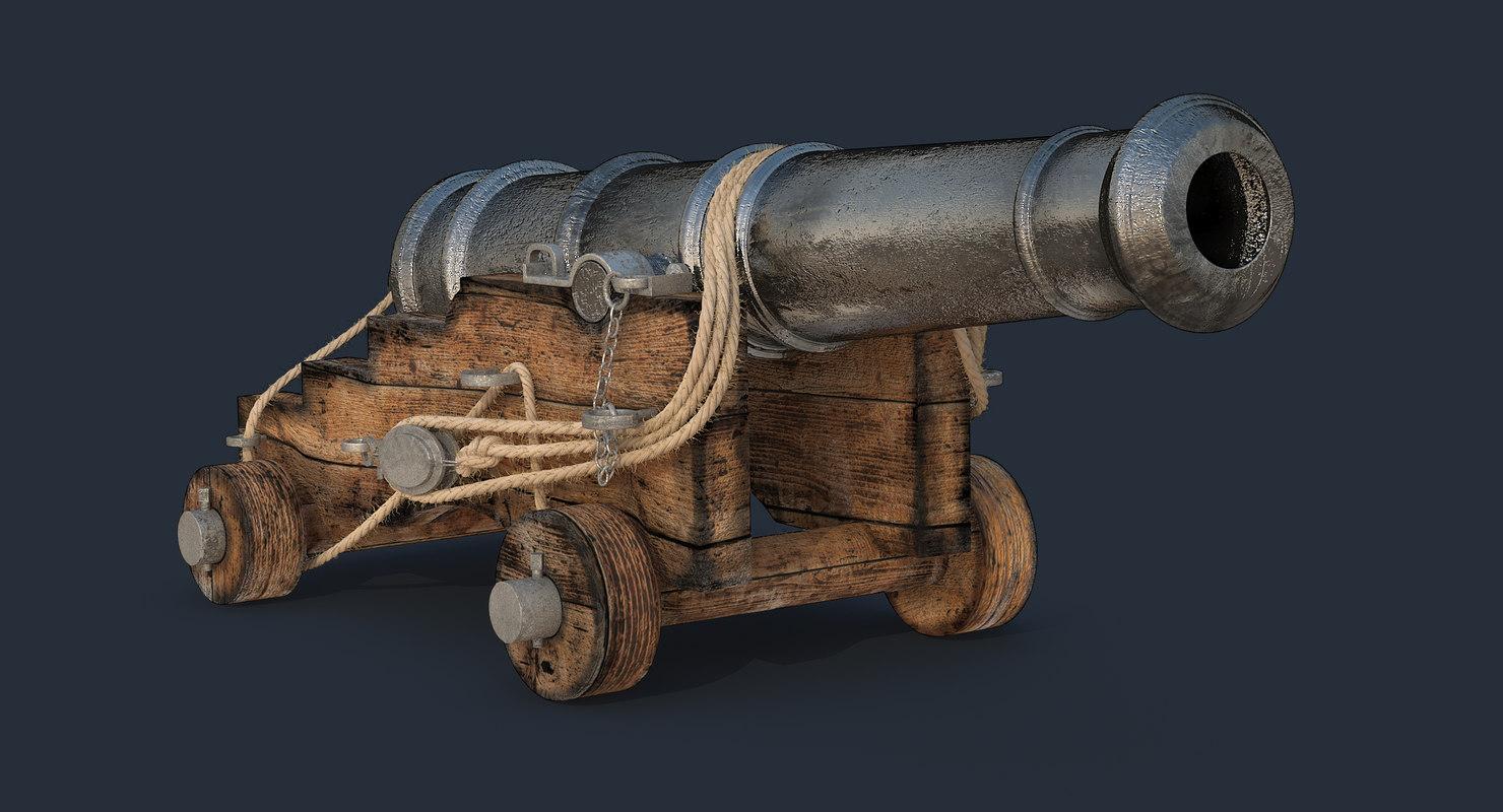 old british ship cannon max