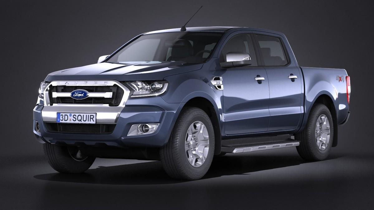 3d model ranger 2017