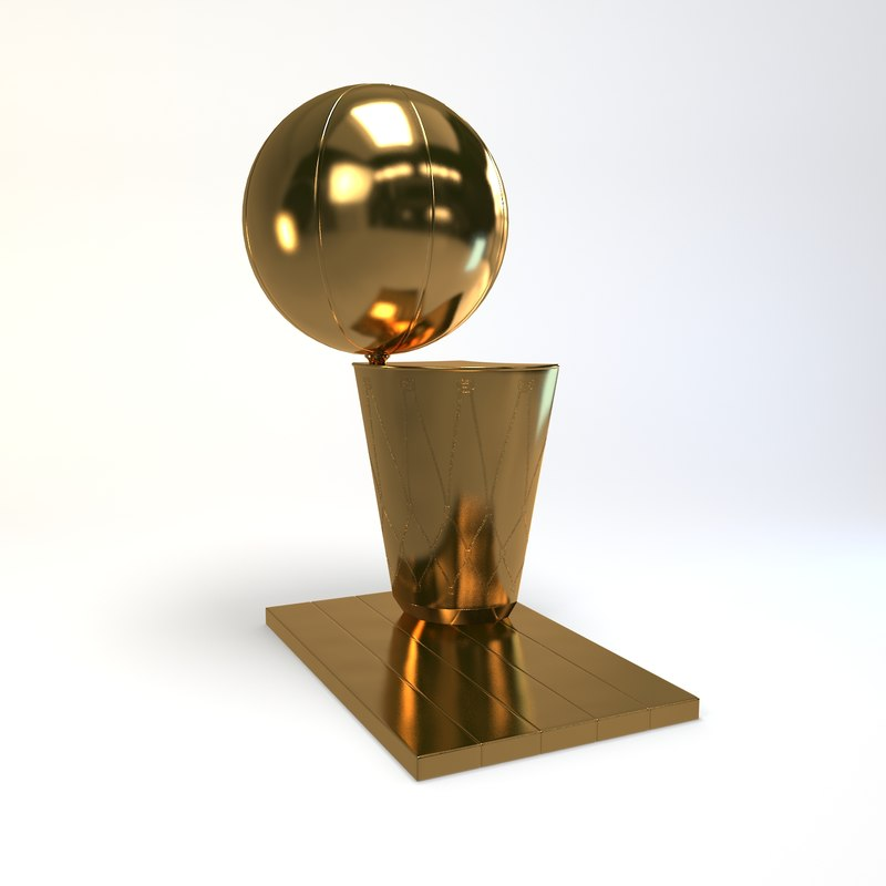 3d model basketball trophy