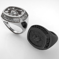 Man Seal Ring
