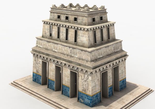 3d temple ancient