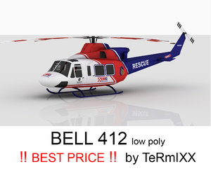 bell 412 rescue 3d 3ds