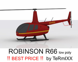3ds helicopter robinson