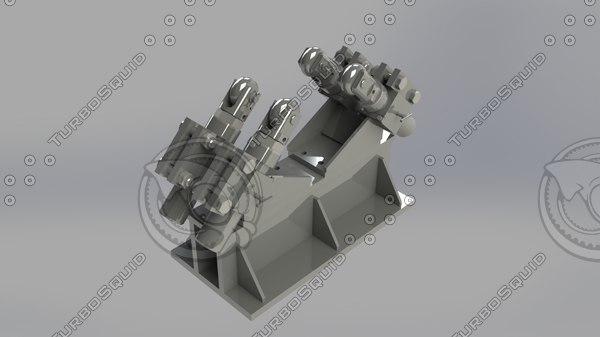 roller assembling 3ds