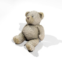 teddy bear 3d max