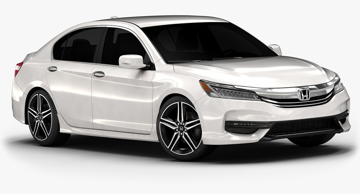 2016 Honda Accord Interior 3d Model