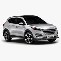 2016 Hyundai Tucson (Low Interior)