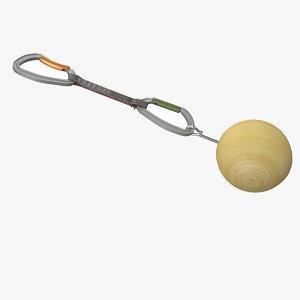 3d climbing training ball