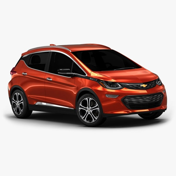 2017 chevrolet bolt interior 3d model
