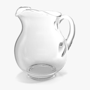 3d model of pitcher cleaning