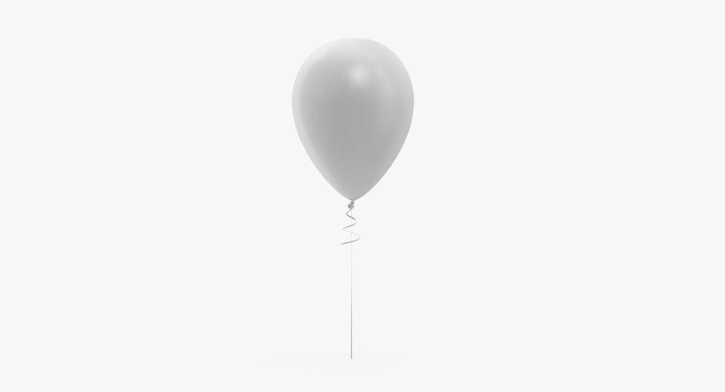 balloon 3d model