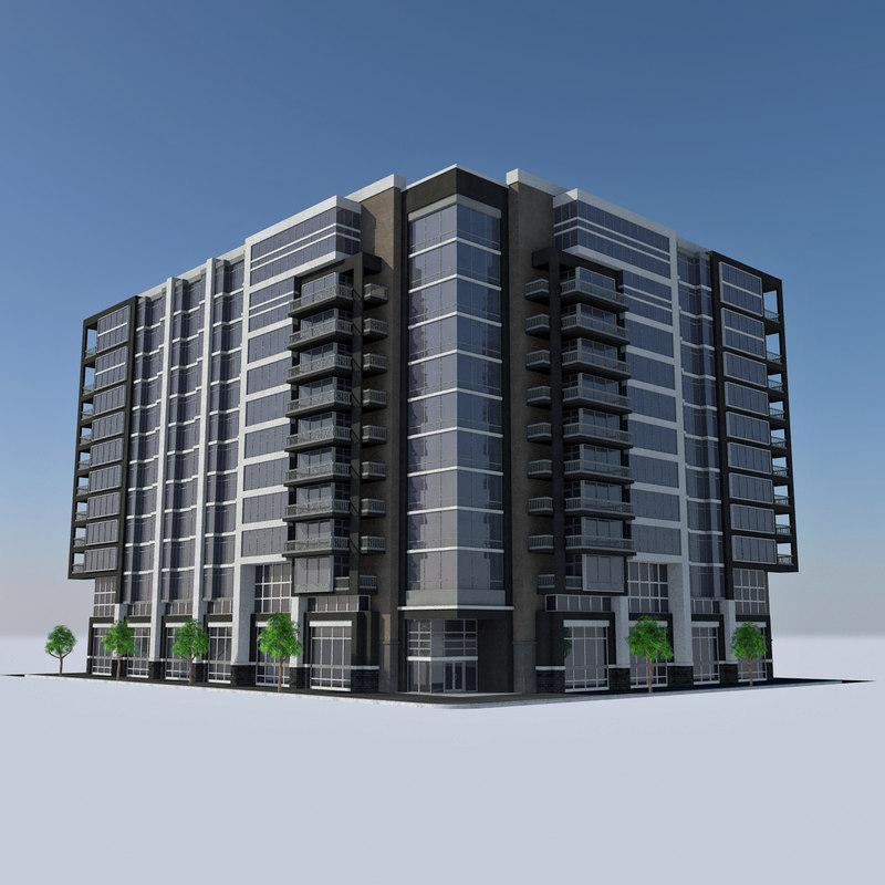 Modern Apartment: Modern Apartment Tile 4 Max