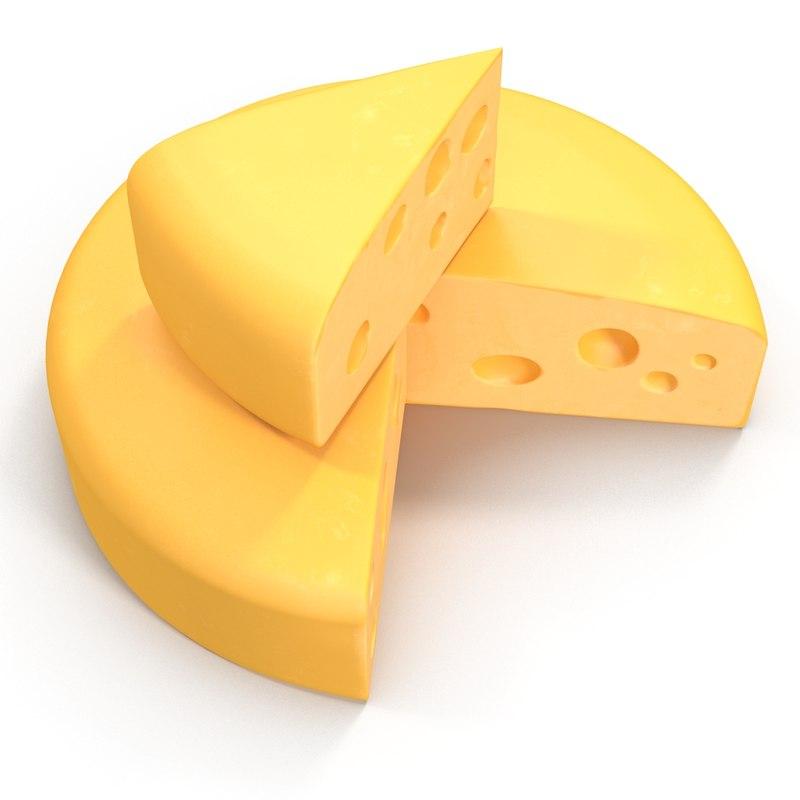 Cartoon Cheese Swiss Cheeses