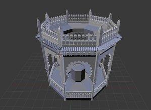 monument blida 3d model