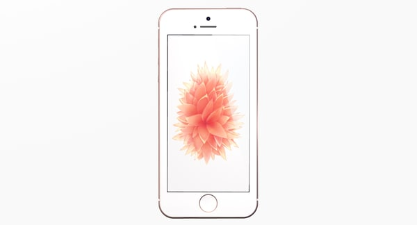 new iphone se rose 3d model
