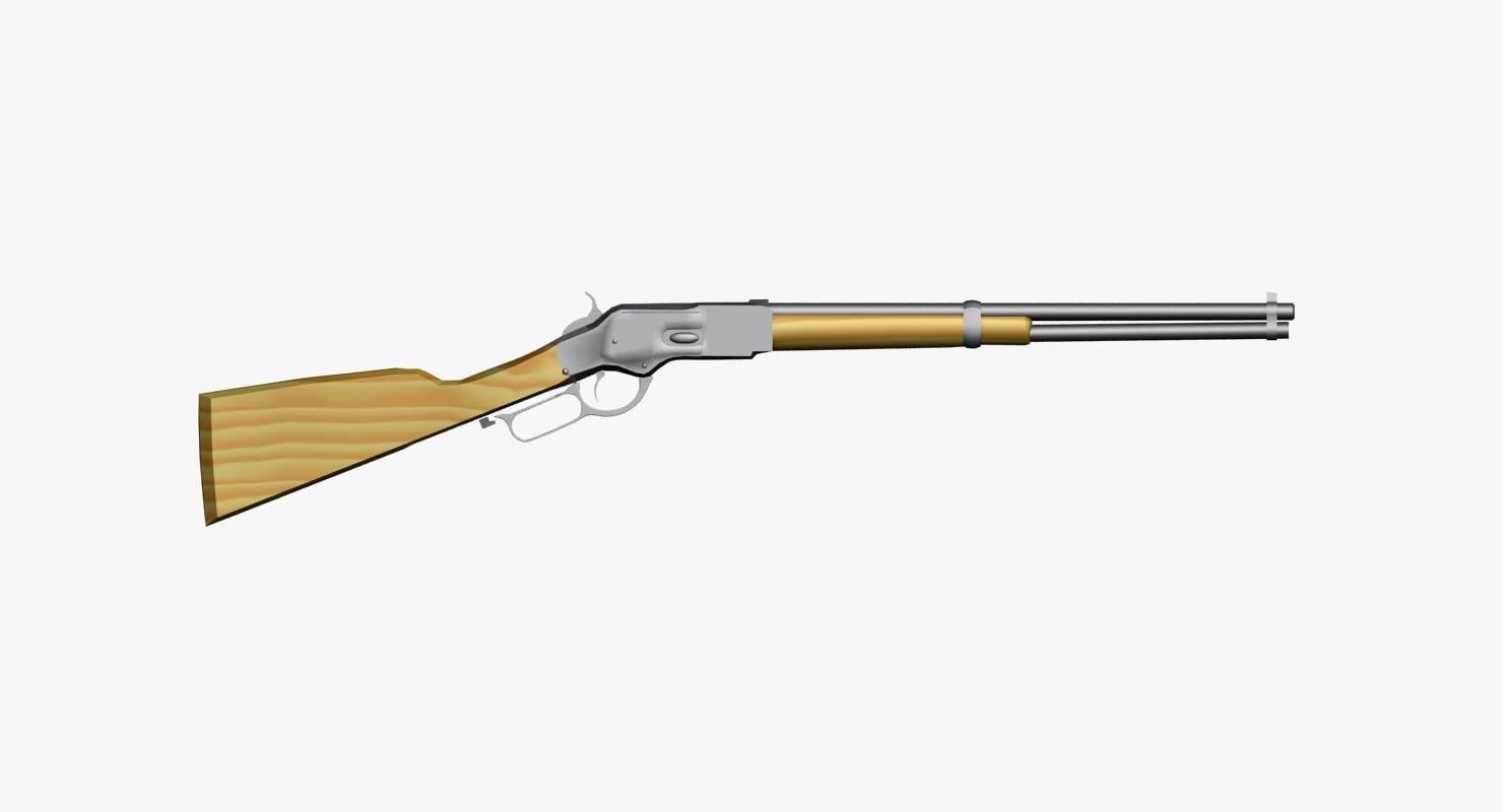 3d ma gun rifle