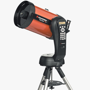 3d model telescope celestron nexstar 8
